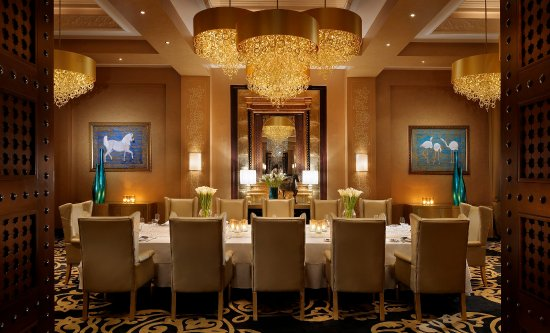 celebrities private dining room, the palace at one&only royal