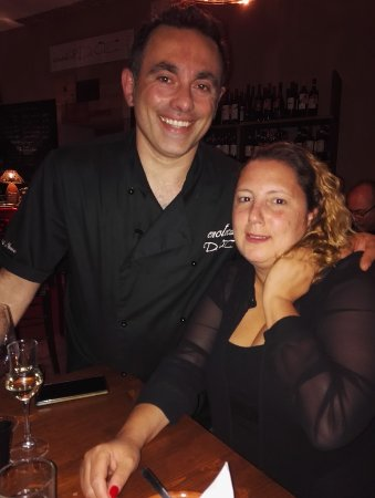 Enoteca D.O.C.: Giovann and my wife