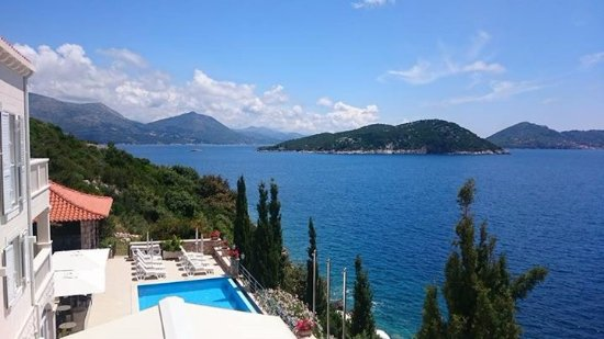 Sudurad, Kroatien: Pool view from room