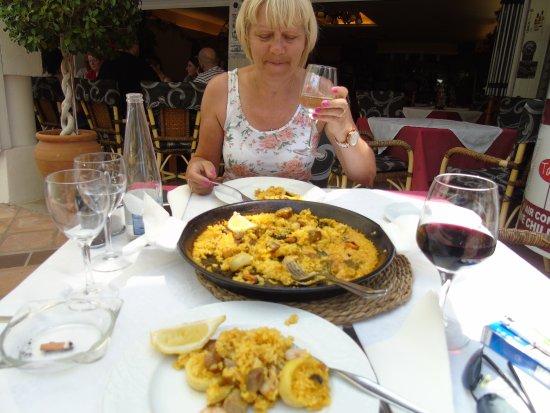 Restaurante Miami: wine excellent too