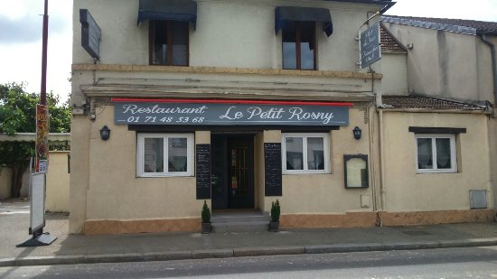 Le petit rosny rosny sur seine restaurant avis num ro - Petit jardin restaurant vitry sur seine ...