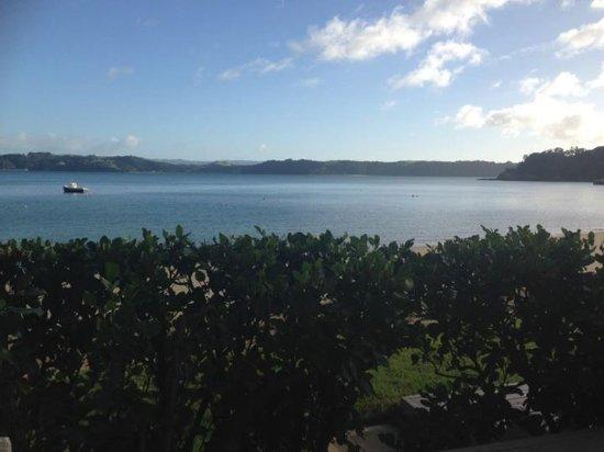 Kawau Island, Nueva Zelanda: View from hotel