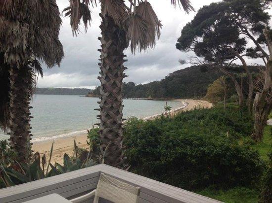 Kawau Island, Nya Zeeland: View from room/deck
