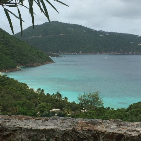 Guana Island: View from lunch