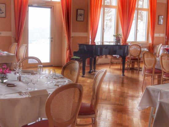 Sainte-Croix, Швейцария: Restaurant