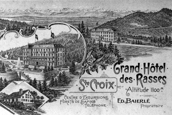 Sainte-Croix, Suiza: Le temps passe.