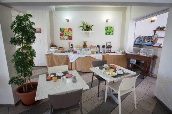 Hotel Austral : Le Petit-déjeuner continental