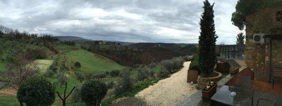 Salvadonica - Borgo Agrituristico del Chianti: Panorama