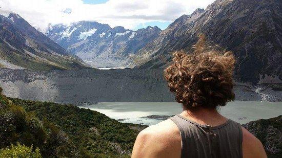 Twizel, Nova Zelândia: View on the walk to mueller ridge