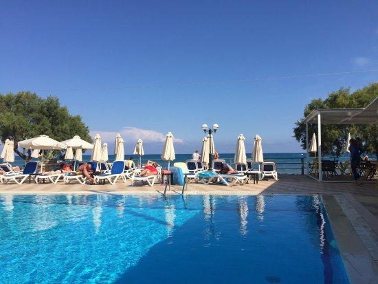 badezimmer - picture of mediterranean beach resort hotel, laganas, Badezimmer