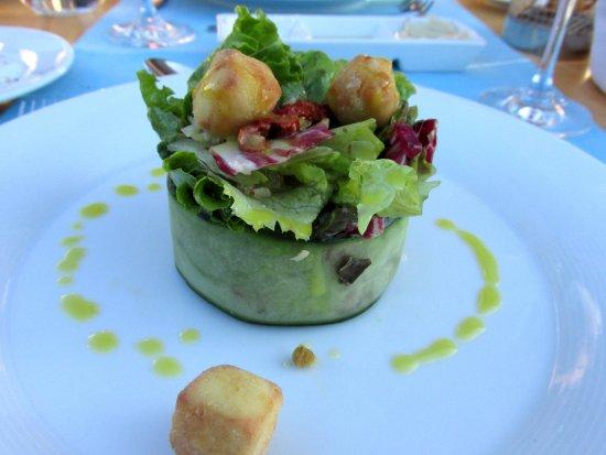 SENTIDO Blue Sea Beach  Salat Bouquet im Ammons   la Carte Restaurant. Salat Bouquet im Ammons   la Carte Restaurant   Picture of SENTIDO
