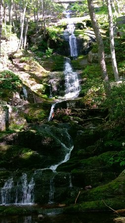 Layton, NJ: If you hike a bit upstream from buttermilk falls there are plenty of other beautiful scenes.