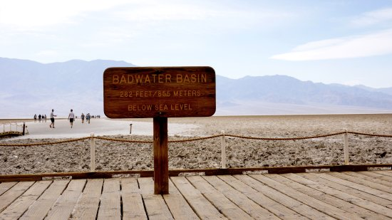 Badwater: the location