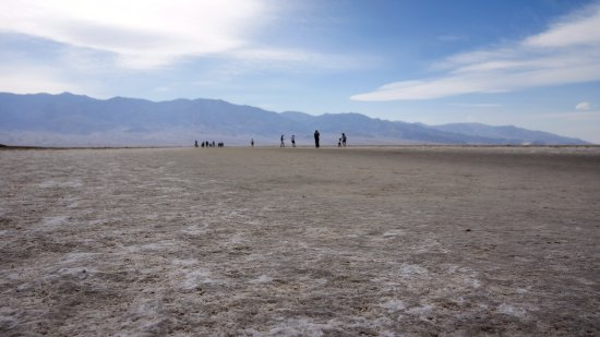 Badwater: the view