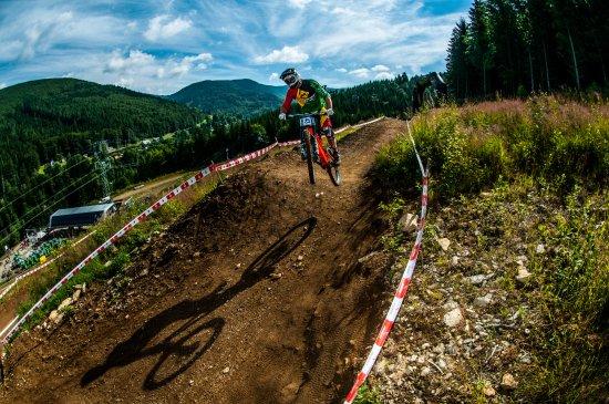 Kouty nad Desnou, Česká republika: Bike trail Kouty