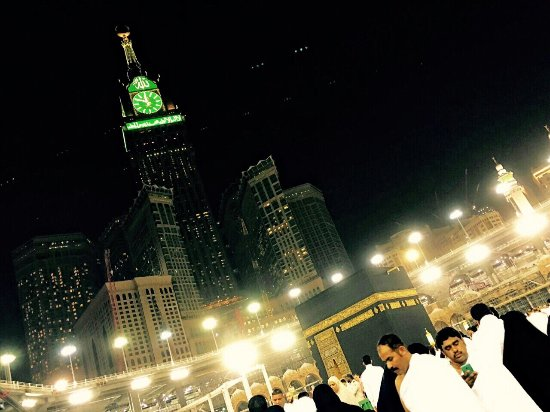 Makkah Clock Royal Tower, A Fairmont Hotel: Breakfast, view from haram, and room