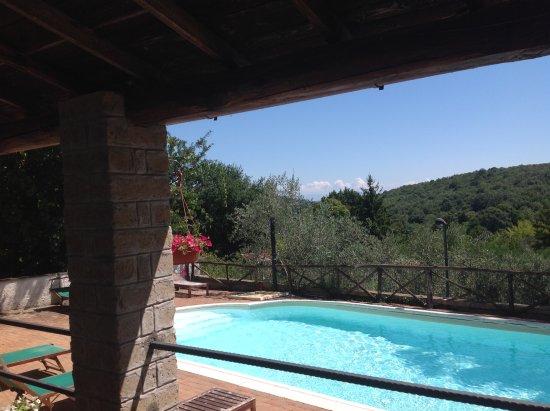 Manziana, Italia: bordo piscina