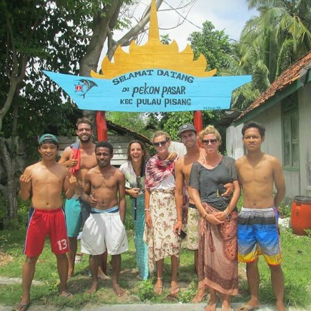 Banana Island: Pulau Pisang Krui Kabupaten Pesisir Barat Lampung