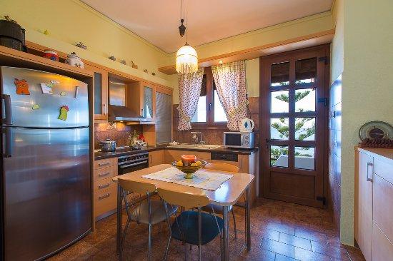 Villa Katerina Petres : Kitchen