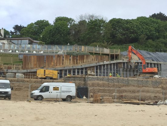 Construction site at the carbis bay hotel picture of for Sites hotel
