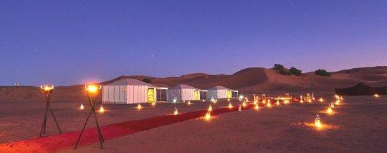 sahara night camp