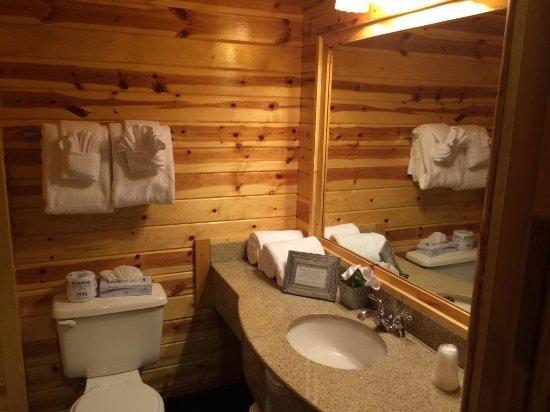 Island Park, Idaho: Bathroom