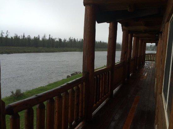 Island Park, Idaho: Balcony