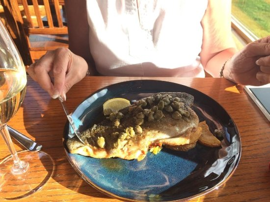 Island Park, ไอดาโฮ: Rainbow trout that tasted superb