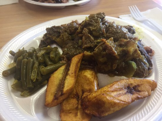 Curried goat and jerked chicken picture of jamaican for African cuisine restaurant