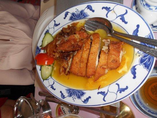peking eend met sinaasappelsaus - photo de oriental, hillegom