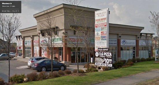 pizza depot brampton 433 wanless dr restaurant. Black Bedroom Furniture Sets. Home Design Ideas