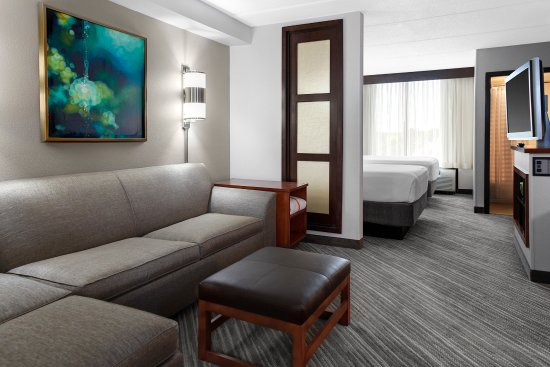 Hyatt Place Windward Parkway: queen living