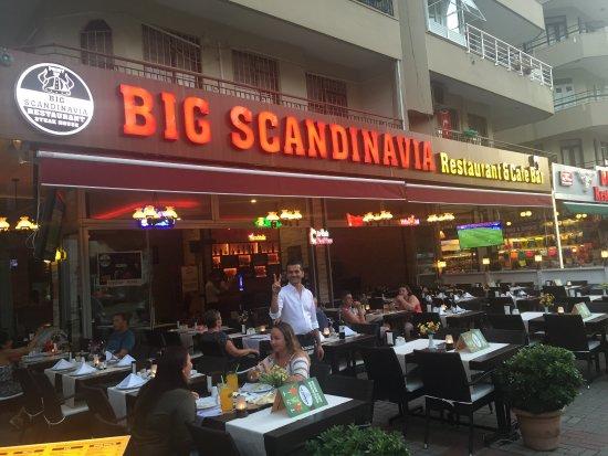 Big scandinavia restaurant steak house picture of big for Alanya turkish cuisine