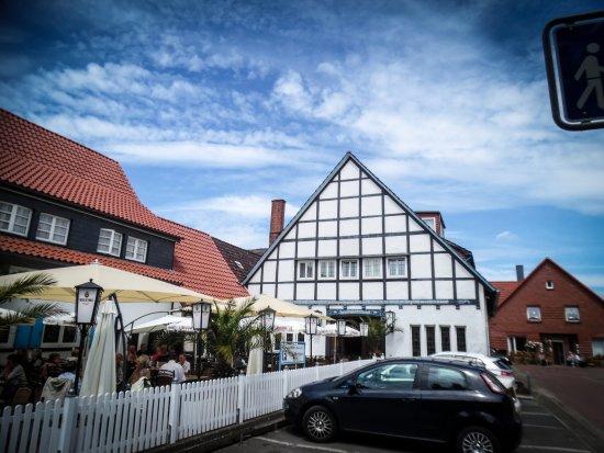 Schweer Harms Fischerhus: The restaurant