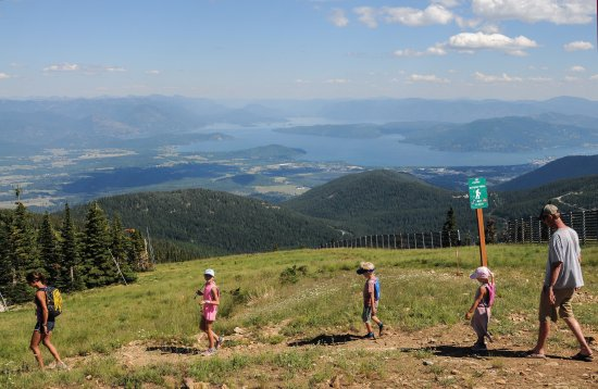 Sandpoint, ID: Hiking on the Nature Trail
