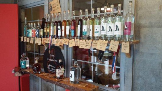 Roche Harbor, WA: Display of products