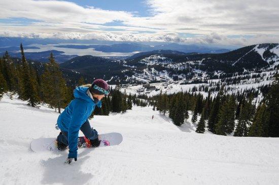Sandpoint, ID: Enjoying a run down Sundance