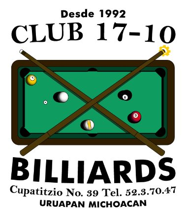 Club 17-10 Billiards