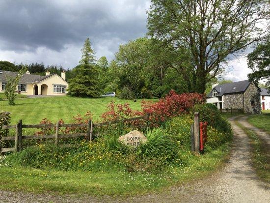 Entryway to Doire Farm Cottages