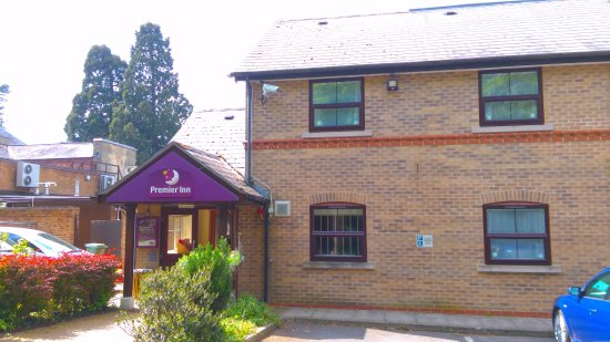 Premier Inn Leicester North West Hotel: Main Entrance