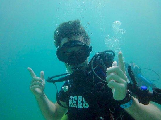 Cartagena Divers: Water was a delicious 85º