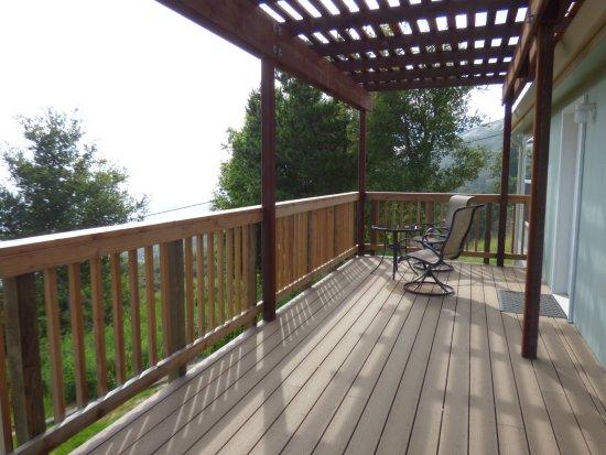 New Camaldoli Hermitage: porch