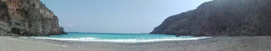 Kaloi Limenes, اليونان: Agiofarago beach