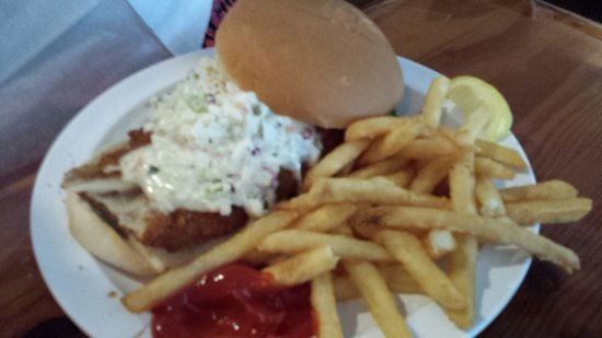 McKenna's Place NSB: Fried Fish Sandwich