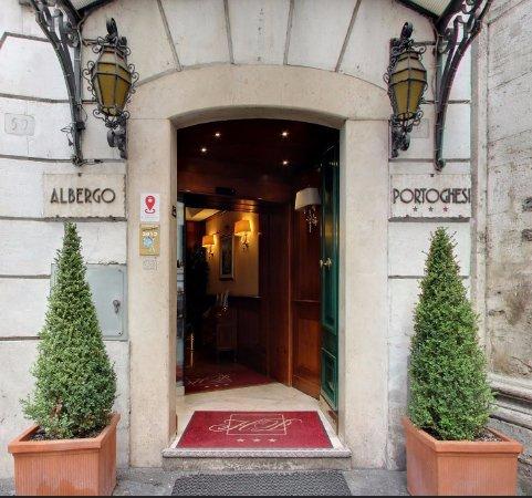Hotel Portoghesi: Welcome to Albergo Portoghesi !