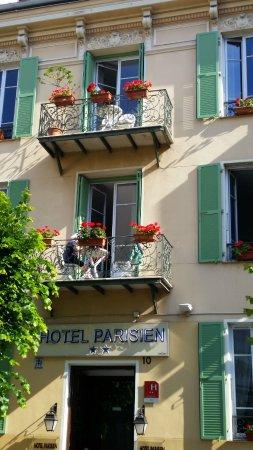 Hotel Parisien Nice : Very provencal!