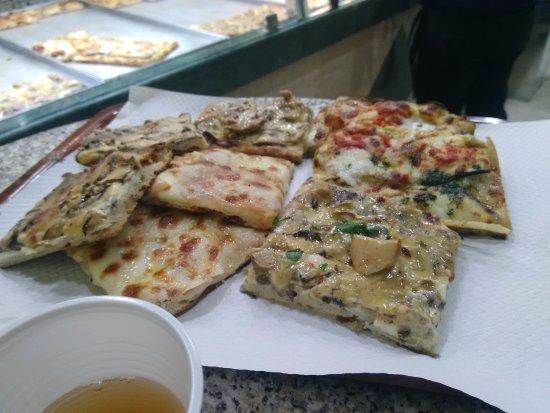 Pizza Europa Rustica: 4 pizzas distintas