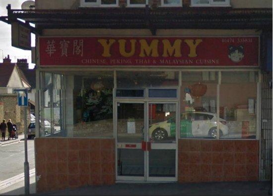 Northfleet, UK: Yummy Chinese and Thai