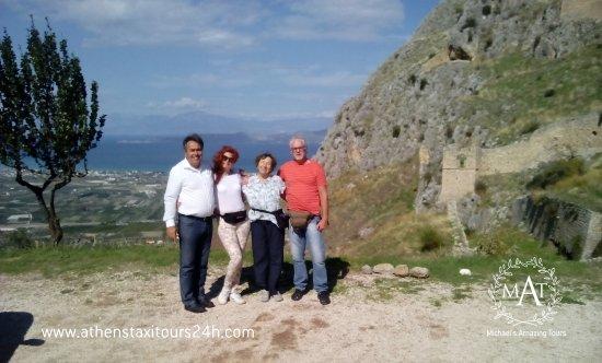 Glyfada, Yunanistan: CORINTH TOUR ACROCORINT FORTRESS