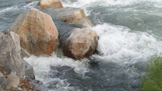 Three Rivers, Kalifornia: River view